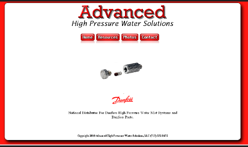Advanced High Pressure Water Solutions